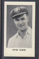 Thomson - The World's Best Cricketers 1958 - # 7 Peter Burge - Queensland