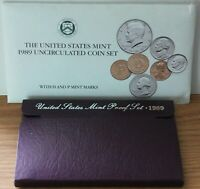 1995 P D S Proof and Uncirculated Annual US Mint Coin Sets 15 Coins Bundle PDS