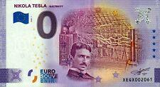 Null Euro Schein - 0 Euro Schein - Nikola Tesla - Electricity 2020-1
