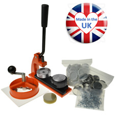 More details for ebadges micro badge making machine - 100 badges, circle cutter and 38mm die