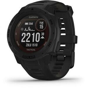 Orologio Garmin INSTINCT SOLAR TACTICAL 010-02293-03 Silicone Nero Smartwatch