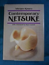 Contemporary Netsuke by Miriam Kinsey Charles Tuttle 1977 Hardcover in Jacket