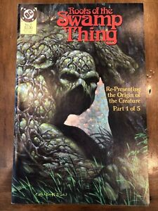 DC Comics Roots of the Swamp Thing Issues #1-4 (1986) Wrightson Reprints HQ