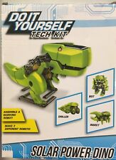 Do It Yourself Tech Kit Solar Power Dino Complete New Great Fun