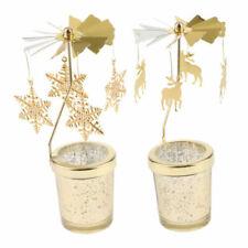 Markenlose Deko-Kerzenständer & -Teelichthalter aus Gold