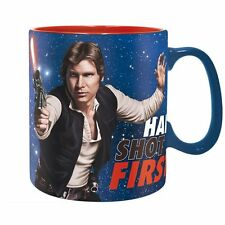 Star Wars - Keramik Tasse 460 ml - Han Solo - Han Shot First - Geschenkbox