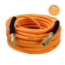 DuraDrive 1/4 in. x 75 ft. Premium Hybrid Polymer Air Hose with Swivel Fitting