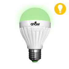 Grow1 Plant Safe Green LED Nite Time Indoor Grow Room Light Bulb 9W