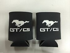 4 NEW FORD MUSTANG GT/CS CALIFORNIA SPECIAL COLLAPSIBLE BEVERAGE KEEPER KOOZIES!