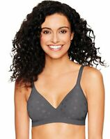 Hanes Bra Women's ComfortFlex Fit Wirefree Ultimate Perfect Coverage Tag-free