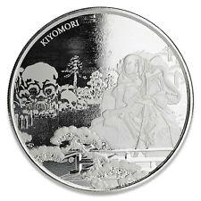 2018 Fiji Samurai Archives 1 oz (31.1g) 999 Fine Silver Round Coin