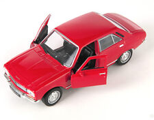 BLITZ VERSAND Peugeot 504 1975 rot / red Welly Modell Auto 1:34 NEU & OVP
