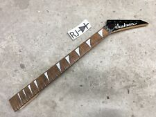 Jackson Japan Warrior WXT Electric Guitar Neck Shark Fin 24 Fret