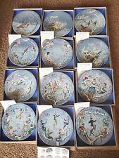 Twelve Days Of Christmas Haviland Limoges Complete Set Of 12 Plates - 1970-1981