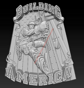 3D Model for CNC Router STL File Artcam Aspire Vcarve Wood Carving IS845
