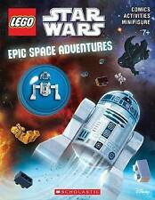 LEGO STAR WARS Epic Spave Adventure : Activity Book with Minifigure