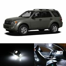 14x White Interior LED Lights Package Kit Fits Ford Escape 2008-2012 #A91