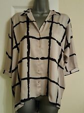 River Island Women's Check Collared Tops & Shirts