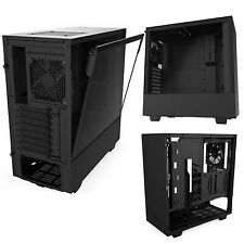 NZXT H510 Compact ATX Mid-Tower PC Gaming Case Tempered Glass Side Panel