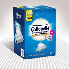 Cottonelle Fresh Flushable Moist Wipes 560 Ct.