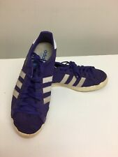 Mens Adidas Basket Profi Og Lo Trainers Uk Sz 7.5 Purple/ White / Ecru