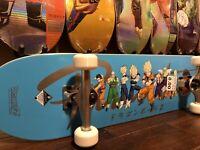 "DISCONTINUED Primitive x Dragon Ball Z Nuevo ""Heroes"" 8.0"" Complete Skateboard"