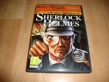 SHERLOCK HOLMES LOS CASOS PERDIDOS DE SHERLOCK HOLMES PARA PC USADO