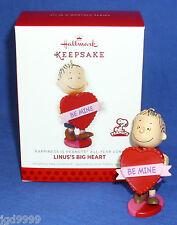 Hallmark Happiness is Peanuts #7 2014 Linus Big Red Heart Valentine's Day NIB