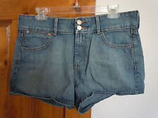 Old Navy womens High Rise denim shorts size 12