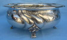 19th Century Large German 835 Sterling Silver Bowl MAGNIFICENT