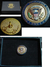 Presidential Barack Obama Presidential Helicopter Squadron Lapel Pin HMX-1
