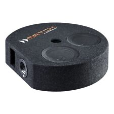 """Match PP7S-D Enclosed Twin 6.5"""" Spare Wheel Subwoofer for Plug and Play Systems"""