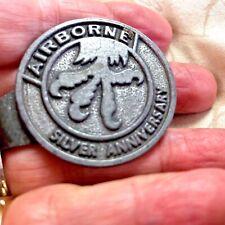Airborne Money Clip Silver Anniversary