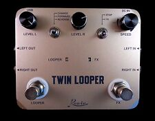 ROWIN LTL-02 TWIN LOOPER STEREO GUITAR EFFECT PEDAL WITH TRUE BY PASS