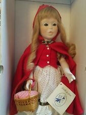 Little Red Riding Hood Porcelen Doll