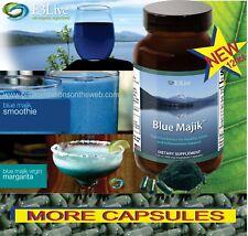 New E3Live BLUE MAJIK 120ct Anti-Inflammation Organic Dietary Supplement,Vitamin