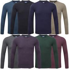 Charles Wilson Men's Crew Neck Soft Knitwear Jumper Sweater Pullover New 2015