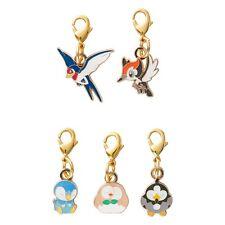 [Premium] Japan Pokemon Center original Metal Charm Set Rowlet'S Garden Taillow