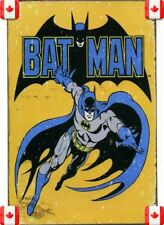 20X30cm Tin Metal Sign BATMAN SUPERHEROES VINTAGE GARAGE CAFE BAR PUB  Wall 027