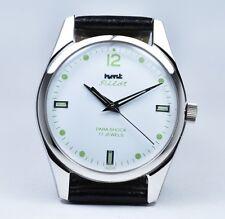 HMT Pilot, White Dial, 17 jewels - hand winding mechanical watch