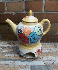 """Kanne mit Stövchen Teekanne Kaffeekanne Teekanne """"Frida"""" scohrs"""