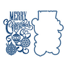 Tattered Lace Unity Bauble Merry Christmas Cutting Die 477217