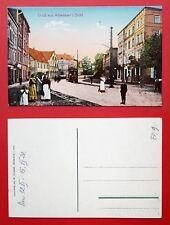 AK WALDENBURG Altwasser um 1920 Strassenpartie mit Strassenbahn   ( 32459