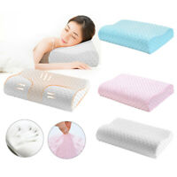 Memory Foam Pillow Bamboo Pillow Cervical Pillow for Neck Pain Back Support
