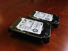 "Dell 73 GB 15K SAS 6 Gbps 2.5"" Hard Drive X2 R727K 0R727K per i server DELL HP"
