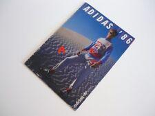 1986 ADIDAS CATALOGUE SPORT RUNNING SHOES EQUIPMENT BAGS TENNIS LEISURE 70`S 80S