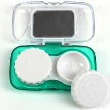 Realistic Pocket Mini Contact Lens Case Kit Easy Carry Mirror Container Suitable For Travel Kit Box Eyes Contact Lens Outdoor Accessaries Fixing Prices According To Quality Of Products Men's Glasses
