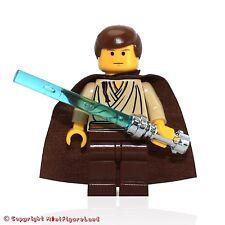 LEGO Star Wars MiniFigure - Obi-Wan Kenobi (Young w/ Padawan Braid Pattern)