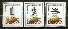 Lituania ( Lithuania ) : 1992 Olympic Games Barcelona 92 (MNH)