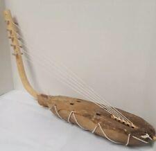 Adungu African Tribal Musical Instrument Arched Harp Uganda Africa